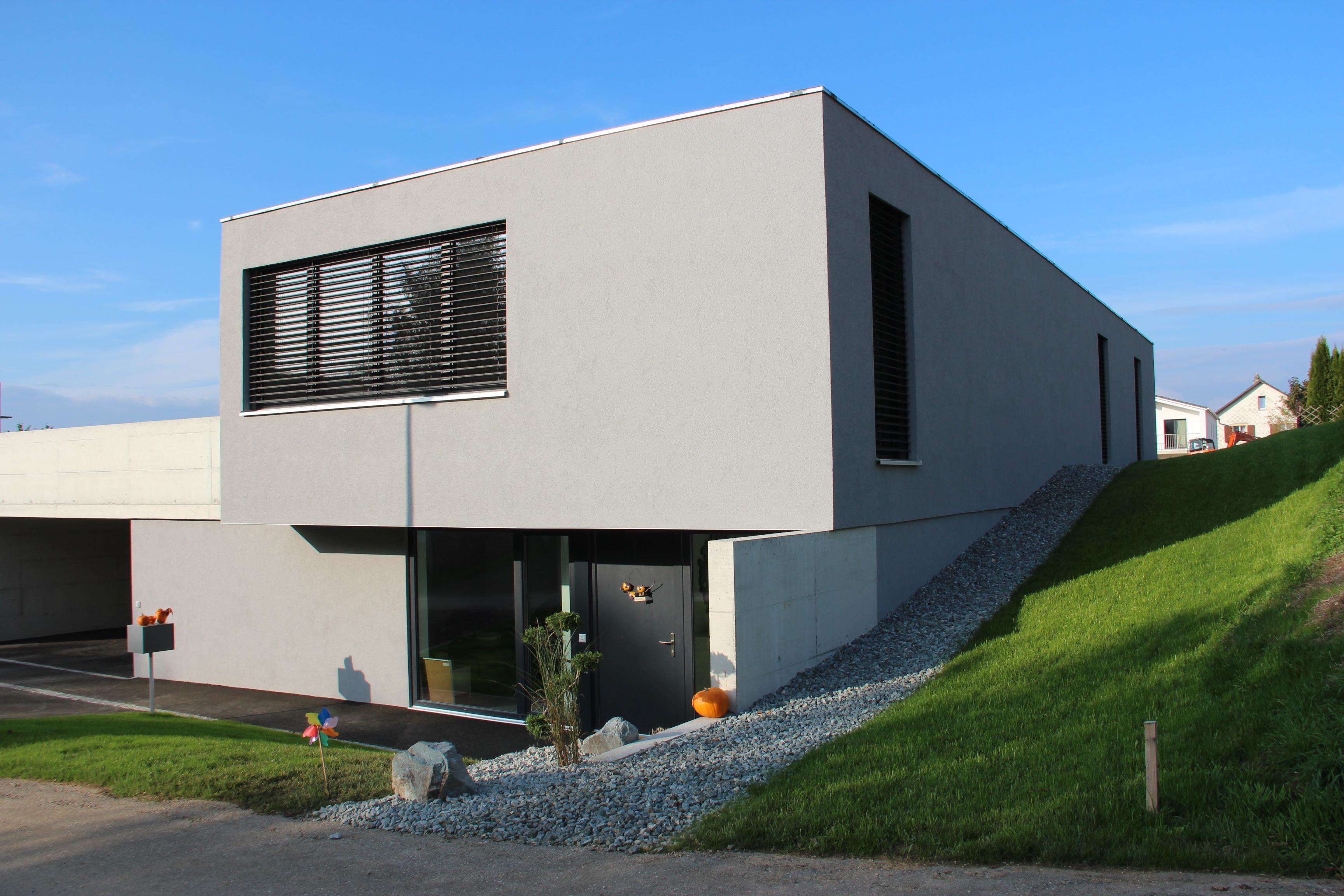 Bureau Architecture Jura : Grey house bureau d architecture philippe donzé architecte à